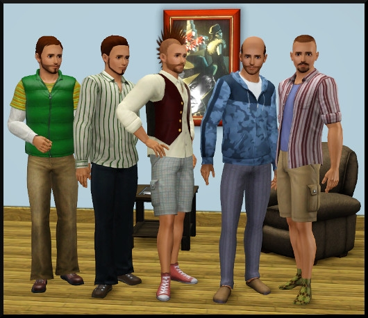 19 sims 3 create a sims vetement coiffure homme
