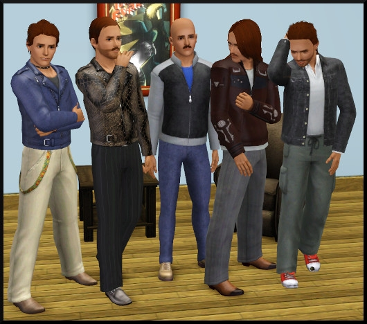 20 sims 3 create a sims vetement coiffure homme
