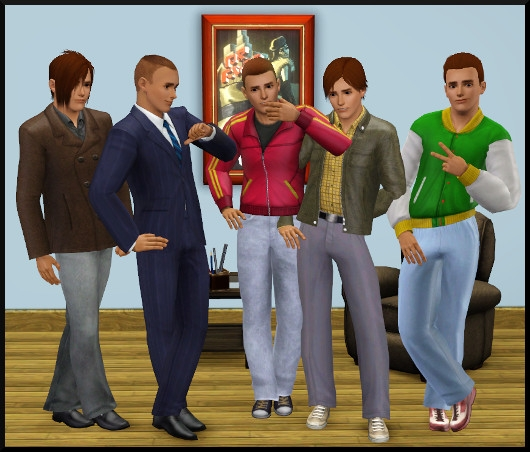 21 sims 3 create a sims vetement coiffure homme