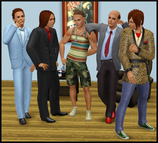 22 sims 3 create a sims vetement coiffure homme