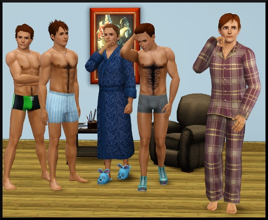 24 sims 3 create a sims vetement coiffure homme