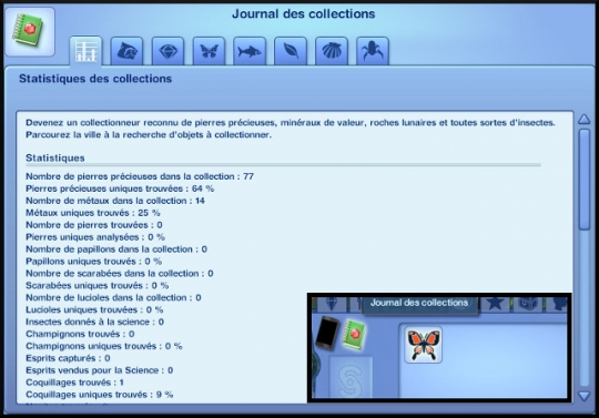 1 sims 3 collection pierre metal insecte journal des collections