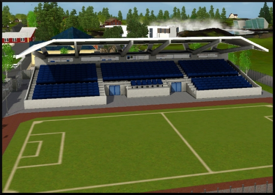 4 sims 3 competence atlhetisme stade ville