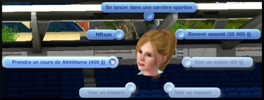 5 sims 3 competence atlhetisme interaction stade cours
