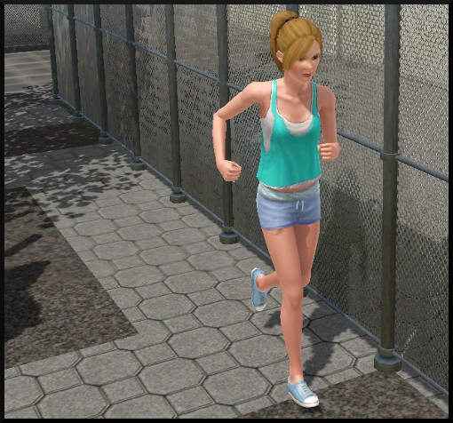 8 sims 3 competence atlhetisme footing action