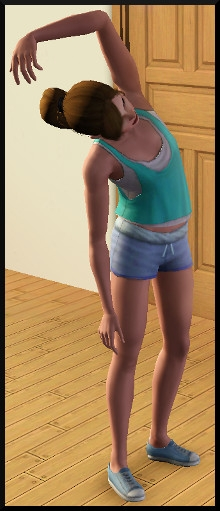 18 sims 3 competence atlhetisme action aerobic