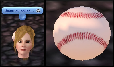20 sims 3 competence atlhetisme interaction ballon base ball