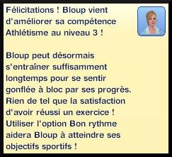 31 sims 3 competence atlhetisme niveau 3