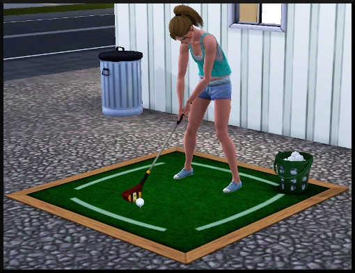 49 sims 3 competence atlhetisme action golf showtime