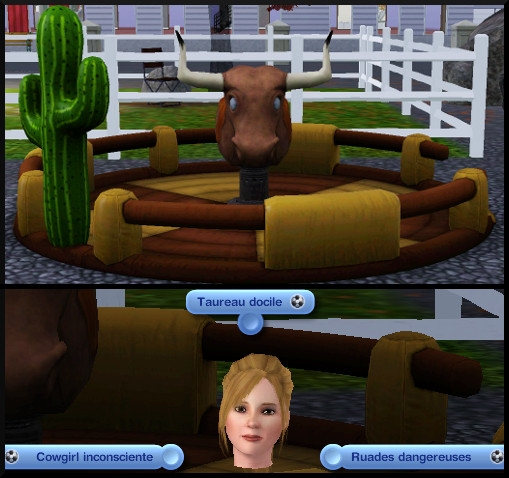 52 sims 3 competence atlhetisme interaction rodeo showtime