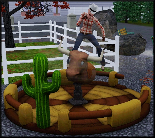 53 sims 3 competence atlhetisme action rodeo showtime