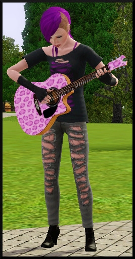 1 sims 3 competence guitare carriere musicale intro