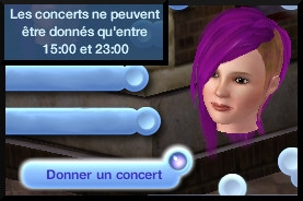 14 sims 3 competence guitare carriere musicale concert theatre interaction