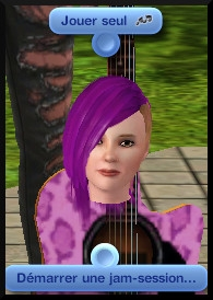 23 sims 3 competence guitare carriere musicale interaction jouer seul