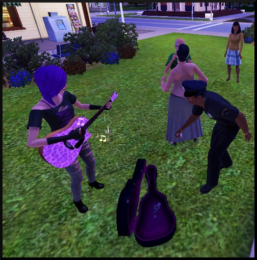 36 sims 3 competence guitare carriere musicale jouer pourboires