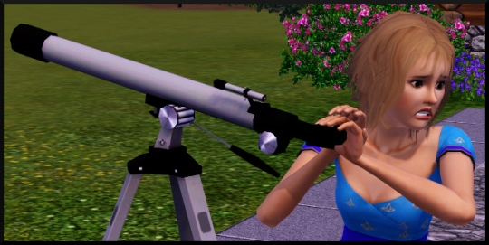 12 sims 3 competence logique regarder telescope peur