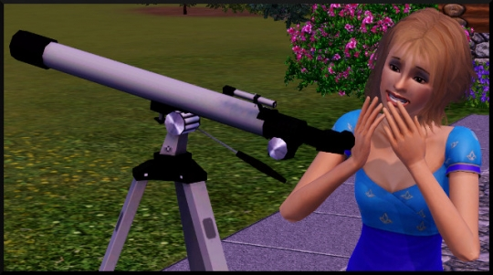 13 sims 3 competence logique regarder telescope rit