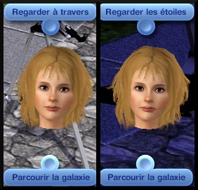 15 sims 3 competence logique interaction telescope parcourir galaxie regarder travers etoiles