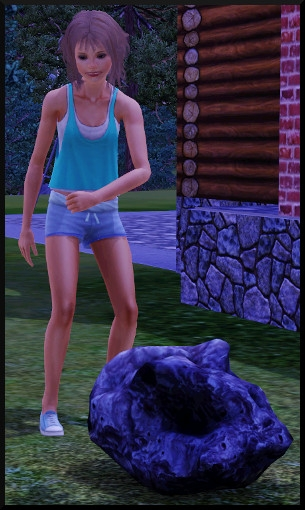 23 sims 3 competence logique telescope meteore tombee ciel recuperer action