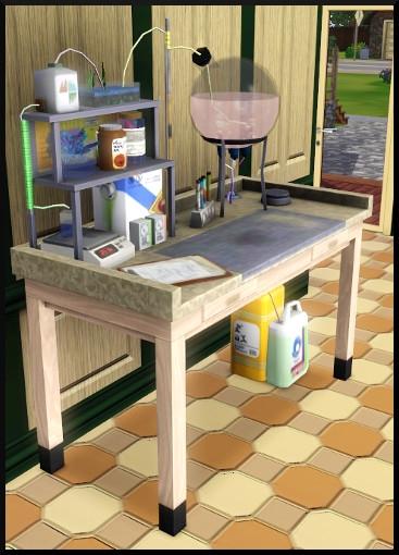42 sims 3 competence logique laboratoire chimie potion generations