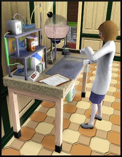 44 sims 3 competence logique laboratoire chimie potion generations action