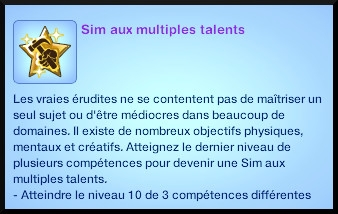 14 sims 3 generalite souhait à long terme multiple talent
