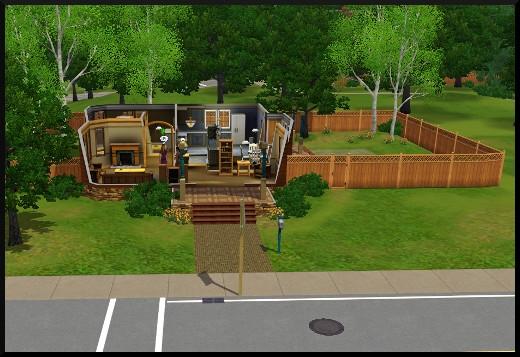20 sims 3 generalite quartier ouvert maison voisin