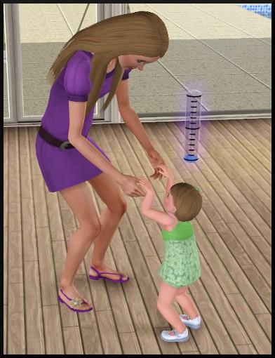 47 sims 3 generalite bambin qui apprend à marcher