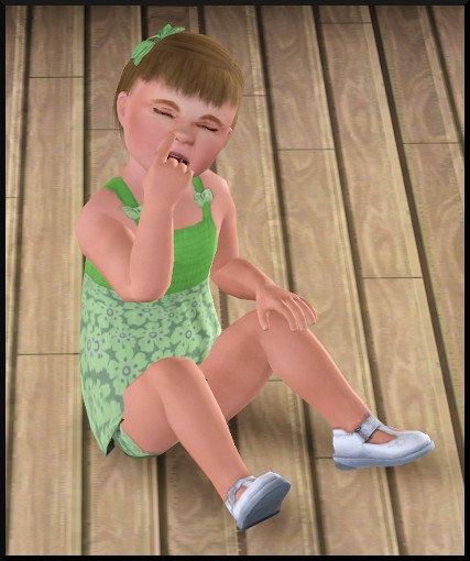 54 sims 3 generalite bambin crotte de nez