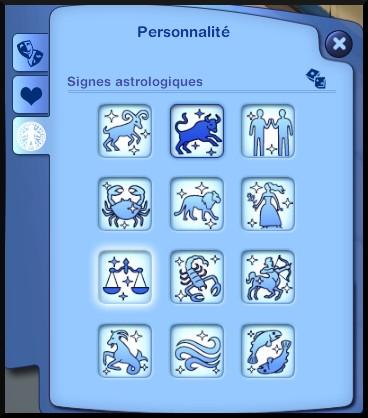 7 sims 3 generalite signes astrologiques