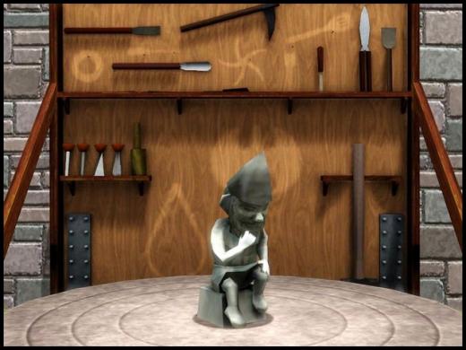 sims 3 gnome magique de la sculpture ambitions