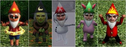 sims 3 gnomes magiques saisons