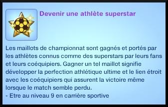 14 sims 3 carriere sportif militaire souhait long terme devenir atlhète super star