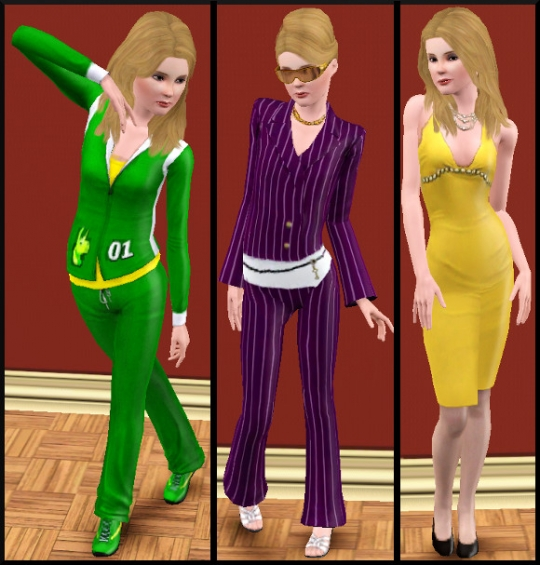 22 sims 3 carriere sportif militaire tenues 2