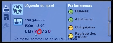23 sims 3 carriere sportif militaire match