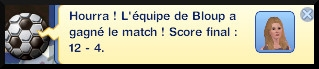 27 sims 3 carriere sportif militaire score match