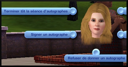 32 sims 3 carriere sportif militaire interaction autographe
