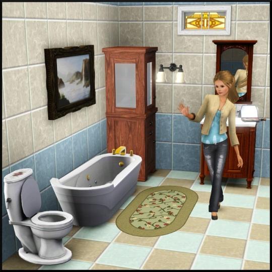 1 sims 3 mode achat construction salle de bain