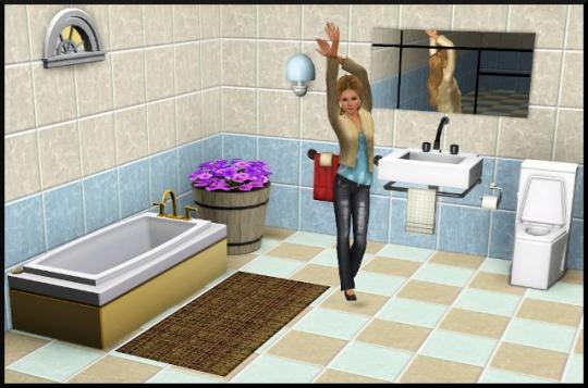 6 sims 3 mode achat construction salle de bain