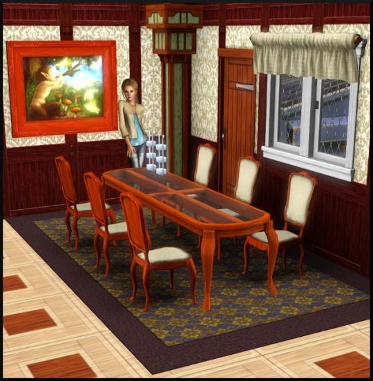 12 sims 3 mode achat construction salle à manger