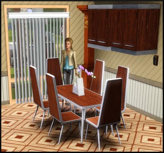 13 sims 3 mode achat construction salle à manger