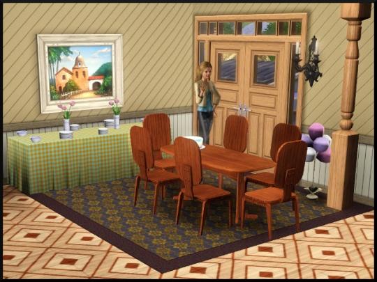 15 sims 3 mode achat construction salle à manger