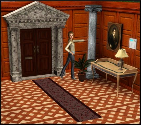 16 sims 3 mode achat construction hall entrée
