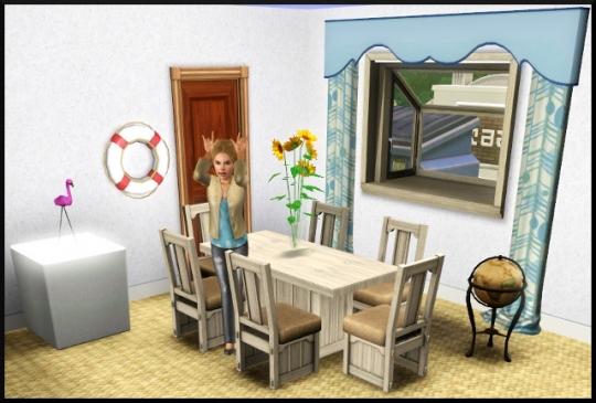 19 sims 3 mode achat construction salle à manger
