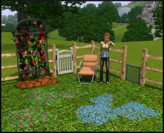 82 sims 3 mode achat construction jardin