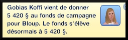 31 sims 3 jeu de base carriere politique pegre message don campagne