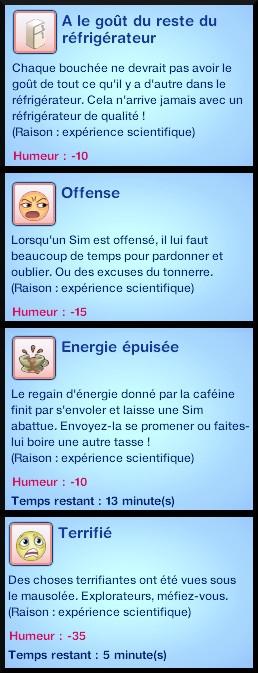 19 sims 3 carriere scientifique medecine savant fou experience sur moodlet negatif