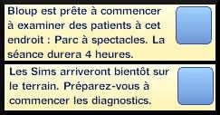 41 sims 3 carriere scientifique medecine ambitions clinique gratuite quartier messages