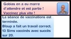 47 sims 3 carriere scientifique medecine ambitions clinique vaccination messages patient impatient