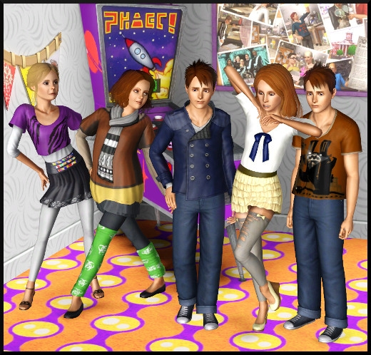 3 sims 3 store Collection quotidienne pour ados